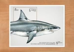 你不忍心撕下的動物郵票