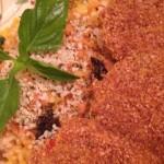 烤焗黃金芋頭圈(配九層塔檸檬汁)
