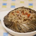 清香荷葉飯