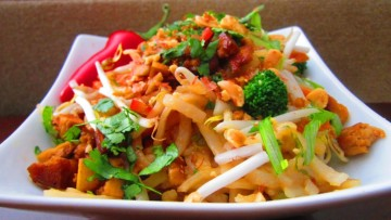 簡易純素泰式炒粉Pad Thai [vegan]