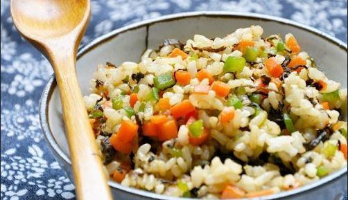 梅菜糙米炒飯2