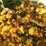 金黃炒豆腐